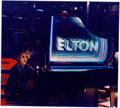 elton john's piano with infinity effect